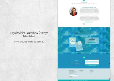 Website Design & Strategy - www.ursulabenstead.com.au