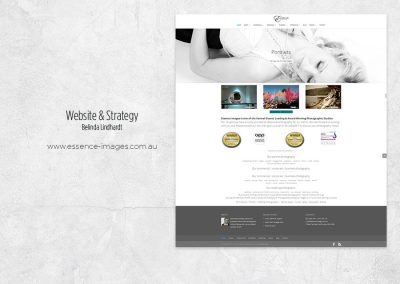 Website Design & Strategy - www.essence-images.com.au