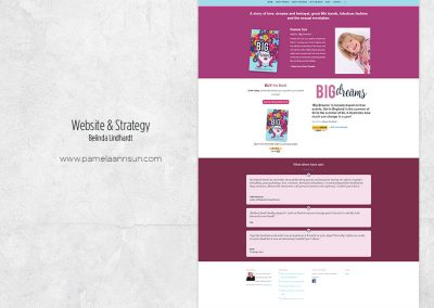 Website Design & Strategy - www.pamelaannsun.com