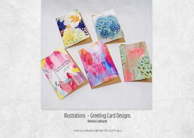 Illustration - Greeting Card Designs