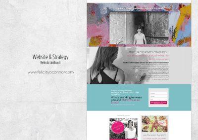 Website Design & Strategy -  www.felicityoconnor.com