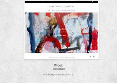 Website Design - http://www.marieberyllorenceau.com.au